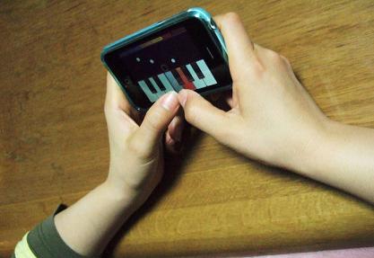 iphoneで遊ぶ