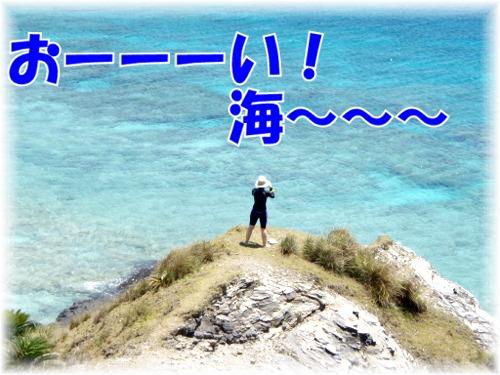 おーーーい! 海