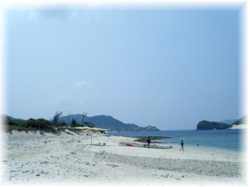 静かな無人島