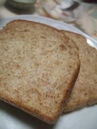 胚芽パンを食べた