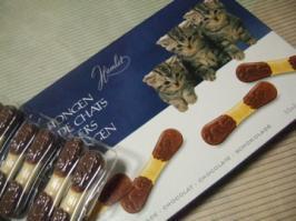 猫舌チョコ