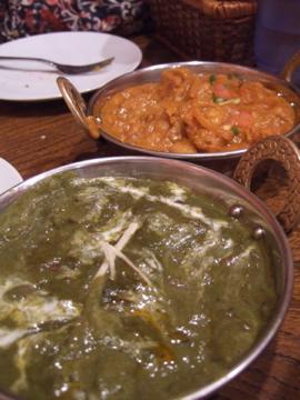 サグマトンとひよこ豆カレー