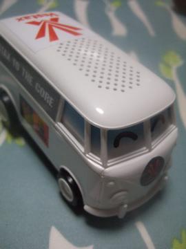 白いバス?