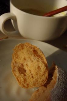 食べた白くない白パン