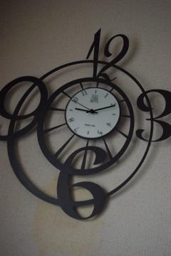 これからよろしくな時計