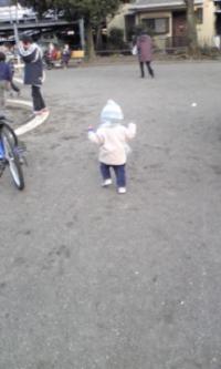 公園で走る@天王町
