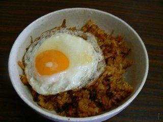 キムチ炒飯7