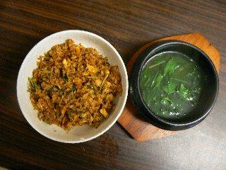 水菜炒飯⑥