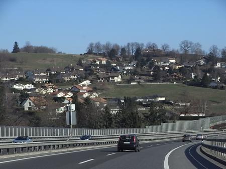 グリュイエールへの道1