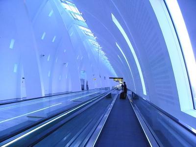 コペンハーゲンの空港