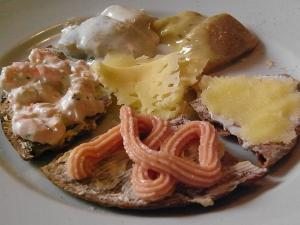 スウェーデンの朝食2