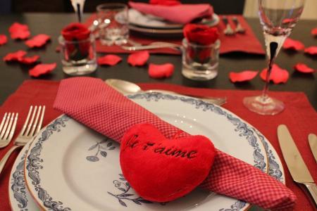 バレンタインディナー1