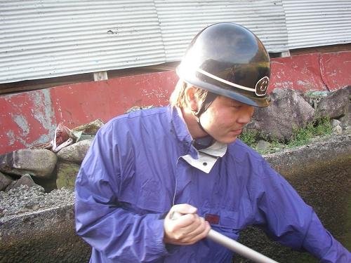 2009.秋貯水池清掃 (6)