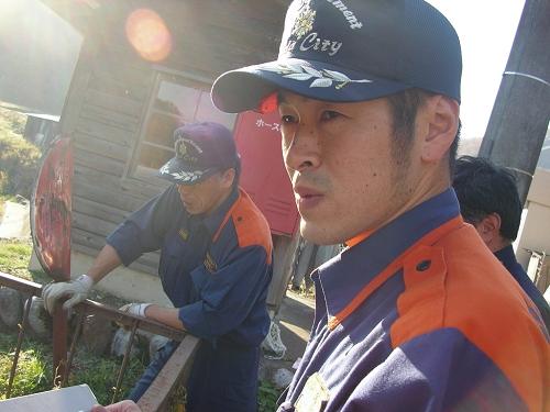 2009.秋貯水池清掃 (8)