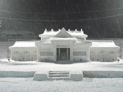 2007.雪まつり前日