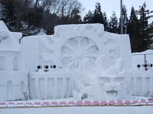 雪まつり2010.昼 (10)
