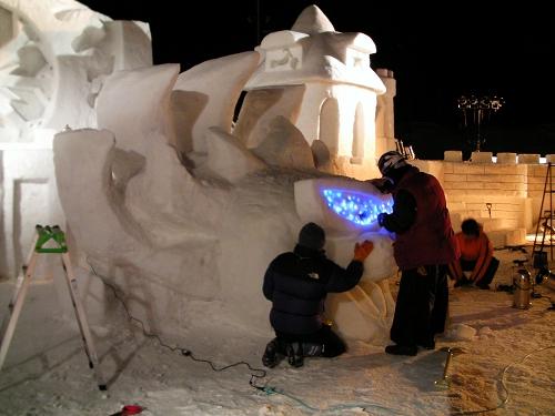 FAINAL雪まつり 夜の部 (2)