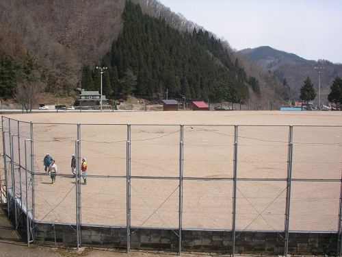 2010年雪まつり4月片付け (6)