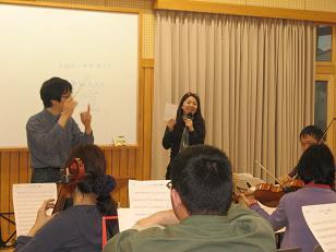 う~みさんと高響の練習(2)
