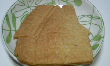 花豆クッキー 中身