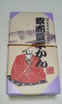 紫花豆羊羹