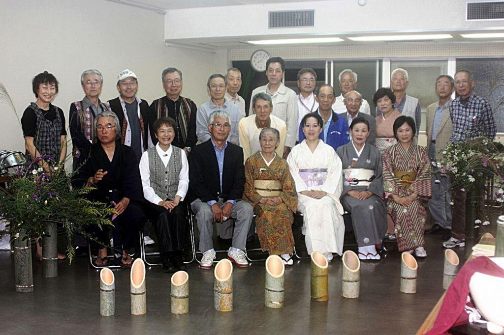 2011年10月14日 (観月)お茶会 集合写真 _R