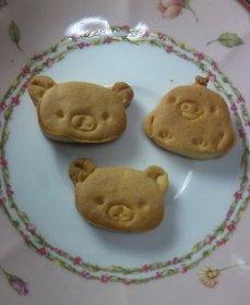 リラックマ型クッキー