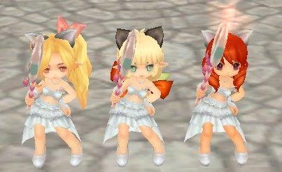 ダンス3姉妹♪