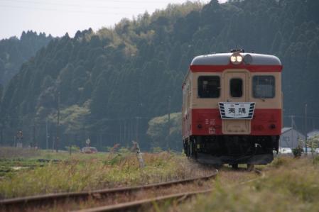 いすみ鉄道 キハ52-125 西大原~上総東 2011/4/30