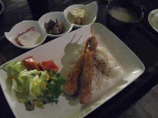 ひな鶏串定食