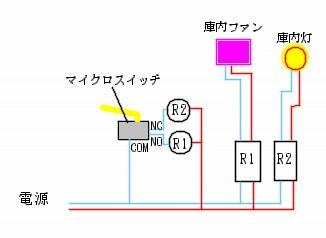 マイクロSW配線