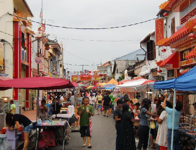中華街のストリート