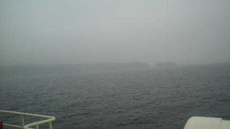 2011.6.11 飛島が見えてきた・・・
