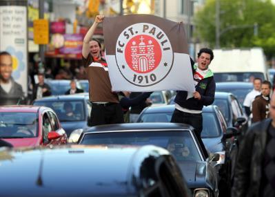 St. Pauli feiert den Aufstieg in die Bundesliga3