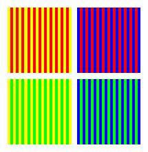 色の同化2