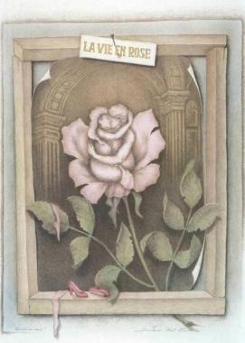 薔薇の中の生活