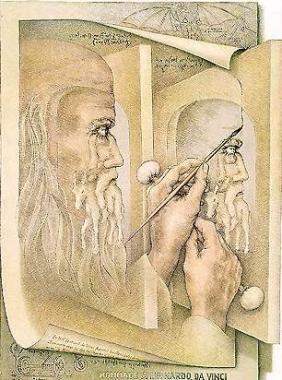 芸術家の目:ダヴィンチ