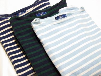 SAINT JAMES(セントジェームス)のバスクシャツ