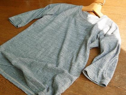 Fil Melange LOBY/フィルメランジェのフットボールTシャツ。