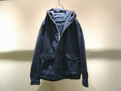 STUDIO ORIBE(スタジオ・オリベ)のFrench Dack hooded JKT。