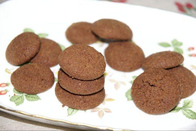 チョコレートアーモンドクッキー①
