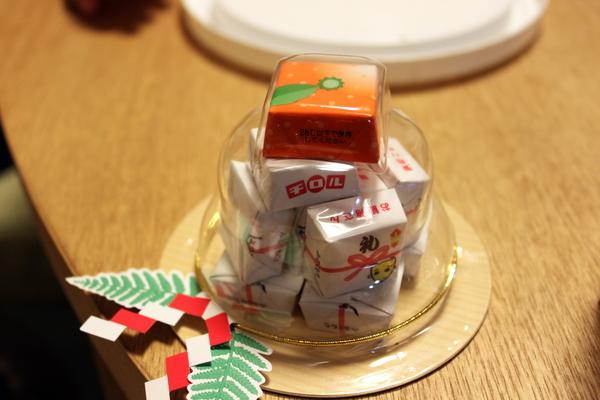 チロル鏡餅2012①