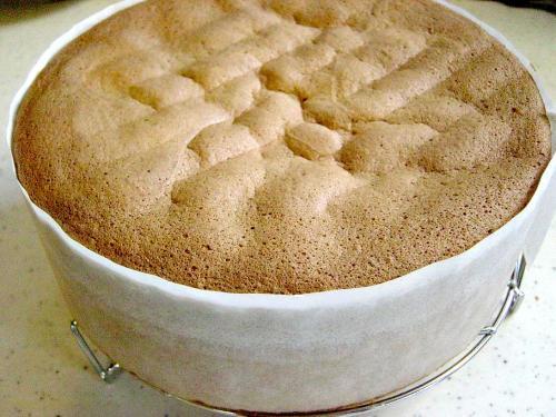 20100127スポンジケーキ