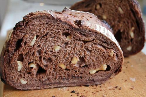 20100312ナッツとチョコのショコラカンパクープ断面