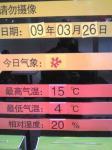北京の温度20090326224600