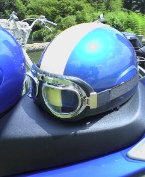 Y氏にもらったヘルメット