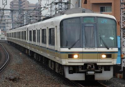 A0205 221系NB206編成 区間快速大阪行