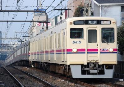 No.15 6413F 急行新宿行
