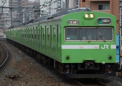 51A 103系NS405編成 区間快速大阪行