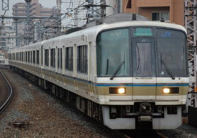 A0204 221系NB201編成 区間快速大阪行
